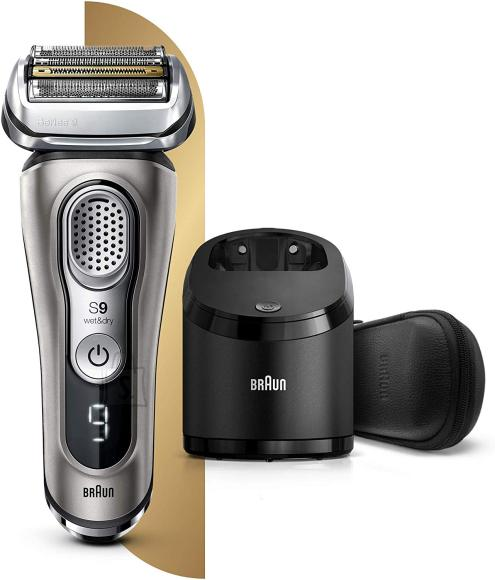 Braun Braun Shaver 9385cc Cordless, Charging time 1 h, Wet use, Lithium Ion, Number of shaver heads/blades 5, Graphite