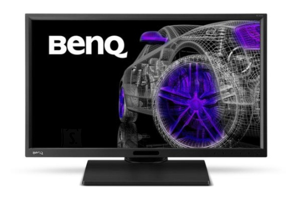 """BenQ Benq Designer BL2420PT 23.8 """", IPS, QHD, 2560 x 1440 pixels, 16:9, 5 ms, 300 cd/m², Black, D-Sub, DVI-DL, HDMI, DP, USB"""