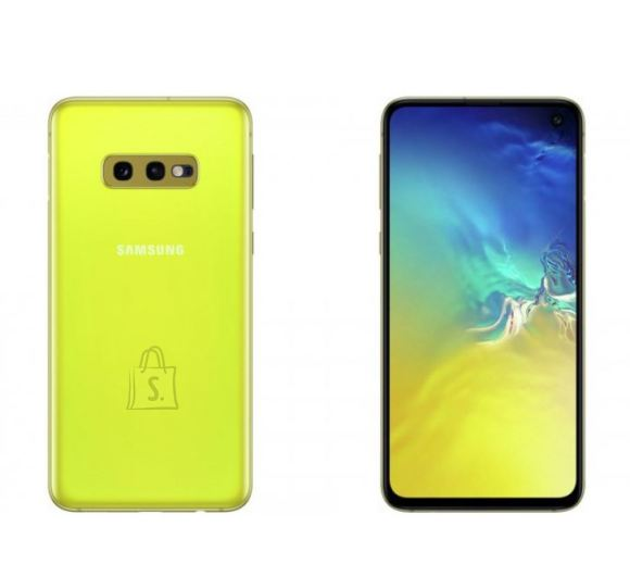 Samsung Galaxy S10E Yellow, 5.8 nutitelefon