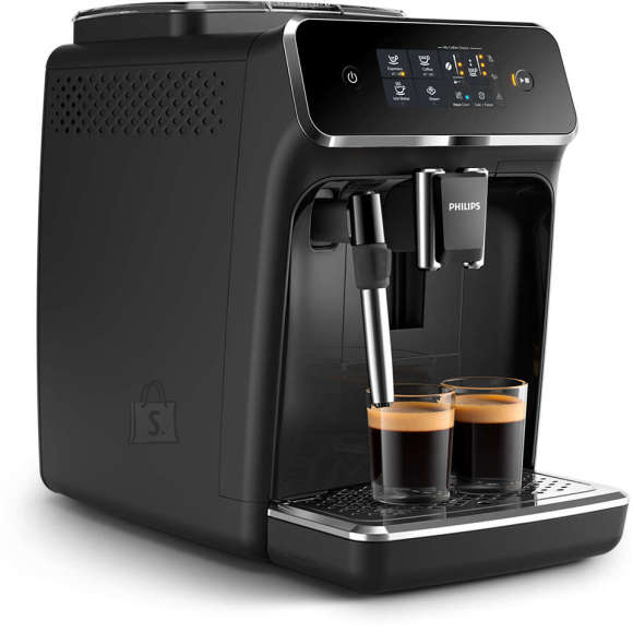 Philips Philips Coffee maker EP2221/40 Pump pressure 15 bar, Built-in milk frother, Fully automatic, 1500 W, Black