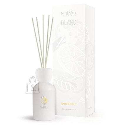 Mr&Mrs Mr&Mrs BLANC Limoni Di Amalfi 250ml, Liquid diffuser, Bergamot/Lily of the valley/Musk