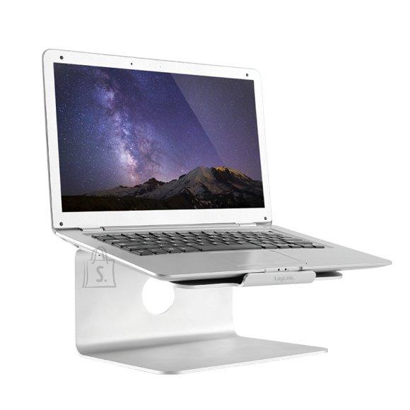 """Logilink sülearvutialus , Aluminum, Notebook Stand, 11""""-17"""" sülearvutitele"""