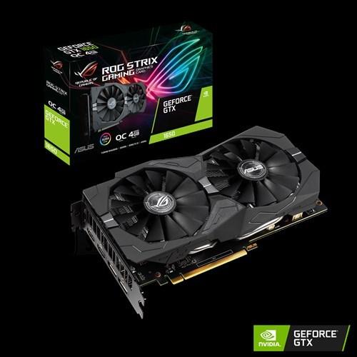 Asus Asus ROG Strix GeForce® GTX 1650 NVIDIA, 4 GB, GeForce GTX 1650, GDDR5, PCI Express 3.0, Memory clock speed 8002 MHz