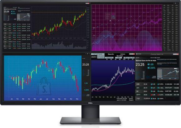 """Dell Dell UltraSharp U4320Q 42.5 """", IPS, 4K UHD, 3840 x 2160 pixels, 16:9, 5 ms, 350 cd/m², Black, Warranty 36 month(s), 2 x HDMI 2.0, 1 x DP 1.4, 2 x USB-C, 3 x USB 3.1 Gen1"""