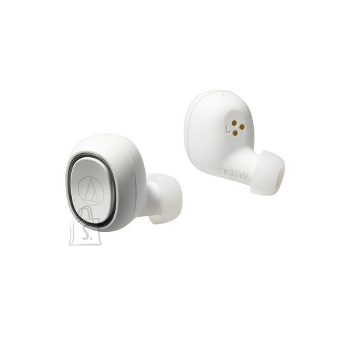 Juhtmeta kõrvaklapid ATH-CK3TWWH Bluetooth 5.0, valge