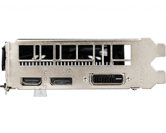 MSI MSI GeForce GTX 1650 AERO ITX 4G OC NVIDIA, 4 GB, GeForce GTX 1650, GDDR5, Processor frequency 1740 MHz, DVI-D ports quantity 1, HDMI ports quantity 1, Memory clock speed 8000 MHz