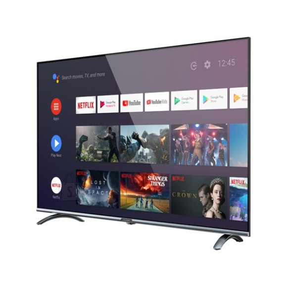 "Allview Allview 40ePlay6100-F 40"", Smart TV, Android 9.0 TV, Full HD, 1920 x 1080 pixels, Wi-Fi, DVB-T/T2/C/S/S2, Black/Silver"