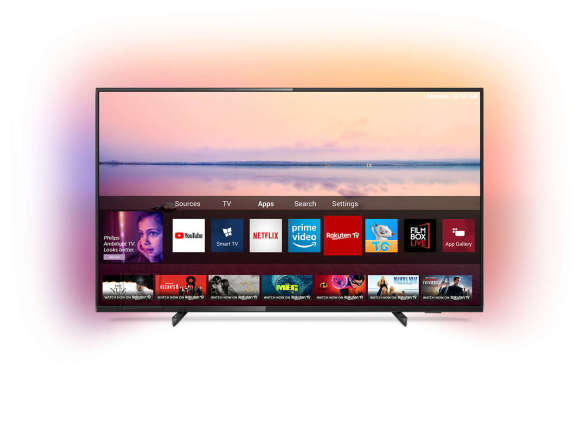 "Philips Philips 43PUS6704/12 43"" (108 cm), Smart TV, UHD Ultra LED, 3840 x 2160, Wi-Fi, DVB T/T2/C/S/S2, Black"