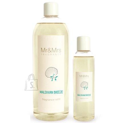 Mr&Mrs Mr&Mrs Blanc Refill JR1BLAN015 Maldivian Breeze: Ozone, Amber, Jasmine, 1 L