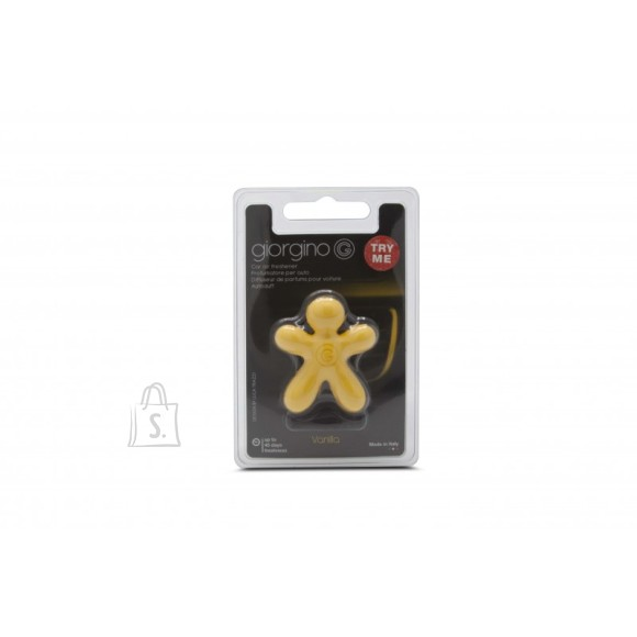 Mr&Mrs Mr&Mrs Car air freshener GIORGINO Vanilla, Yellow