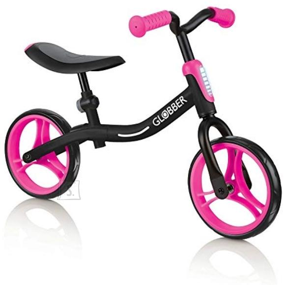 Globber GLOBBER tasakaaluratas Go Bike must-roosa, 610-132