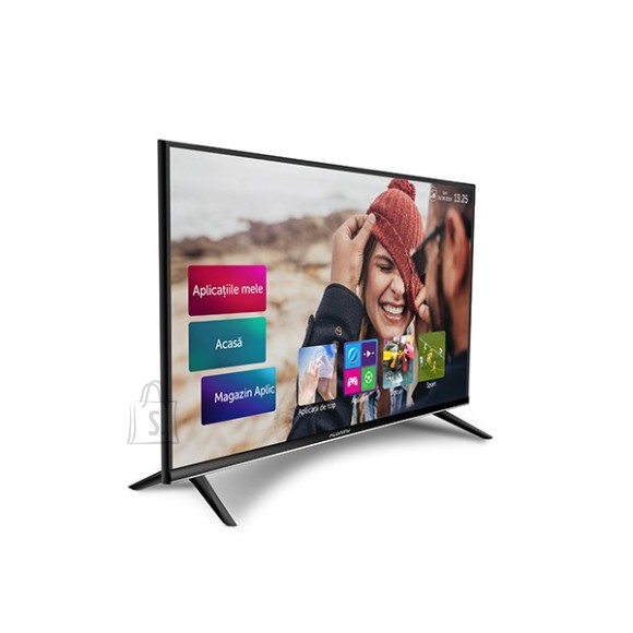 "Allview Allview 40ATS5100-F 40"" (101 cm), Smart TV, Full HD, 1920x1080 pixels, Wi-Fi, DVB-T/DVB-T2, DVB-C, Black and silver"