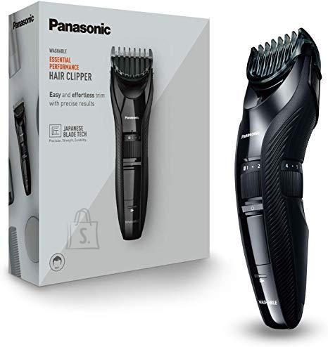 Panasonic Panasonic Hair clipper ER-GC53 Corded/ Cordless, Wet & Dry, Number of length steps 19, Step precise 0.5 mm, Black