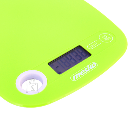 Mesko Mesko Kitchen scale MS 3159g Maximum weight (capacity) 5 kg, Graduation 1 g, Green