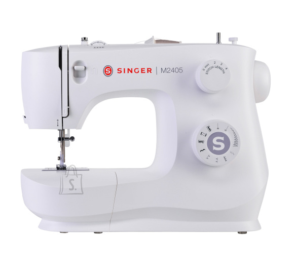 Singer Singer Sewing Machine M2405 Number of stitches 8, Number of buttonholes 1, White