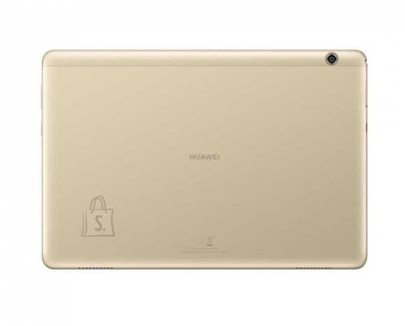 "Huawei Huawei MediaPad T5 10.1 "", Gold, IPS LCD, 1920 x 1200, HiSilicon Kirin 659, 3 GB, 32 GB, Wi-Fi, Front camera, 2 MP, Rear camera, 5 MP, Bluetooth, 4.2, Android, 8.0"