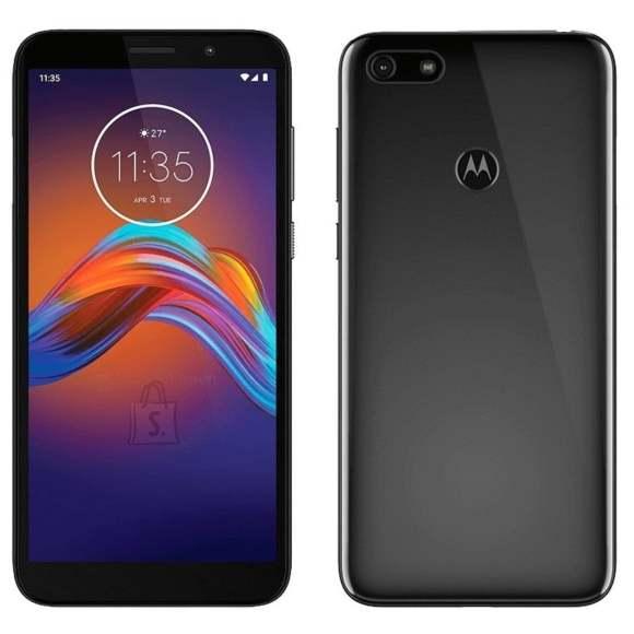 "Motorola Motorola Moto E6 play Black, 5.5 "", IPS LCD, 720 x 1440 pixels, Cortex-A53, Internal RAM 2 GB, 32 GB, microSD, Single SIM, Nano-SIM, 3G, 4G, Main camera 13 MP, Secondary camera 5 MP, Android, 9.0, 3000 mAh"