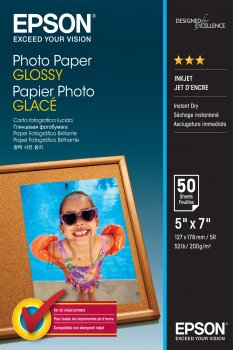 Epson Epson Photo Paper Glossy 50 sheets, 13 x 18 cm, 200 g/m²