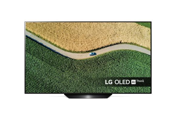 LG LG OLED55B9SLA 55, Smart TV, webOS, UHD, 3840 x 2160, Wi-Fi, DVB-T2/C/S2, Black