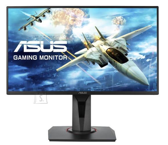 "Asus Asus Gaming LCD VG258QR 24.5 "", TN, FHD, 1920 x 1080 pixels, 16:9, 1 ms, 400 cd/m?, Black, 165Hz, FreeSync/Adaptive Sync"
