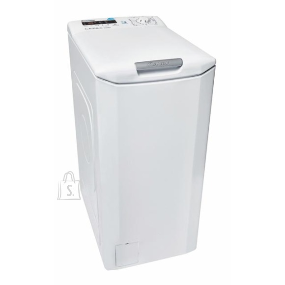 Candy Candy Washing machine CST G372D-S Top loading, Washing capacity 7 kg, 1200 RPM, A+++, Depth 60 cm, Width 40 cm, White, LED, Display