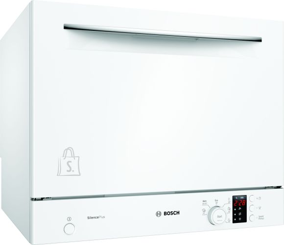 Bosch Bosch Dishwasher SKS62E32EU Free standing, Width 55 cm, Number of place settings 6, Number of programs 6, A+, Display, AquaStop function, White