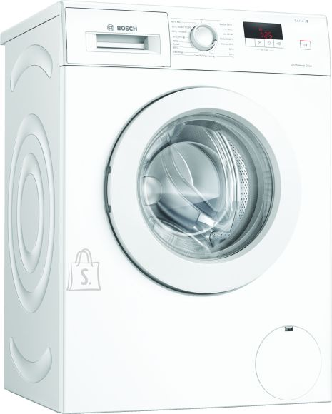 Bosch Bosch Washing mashine WAJ240L7SN Front loading, Washing capacity 7 kg, 1200 RPM, Direct drive, A+++, Depth 55 cm, Width 60 cm, White, LED, Display