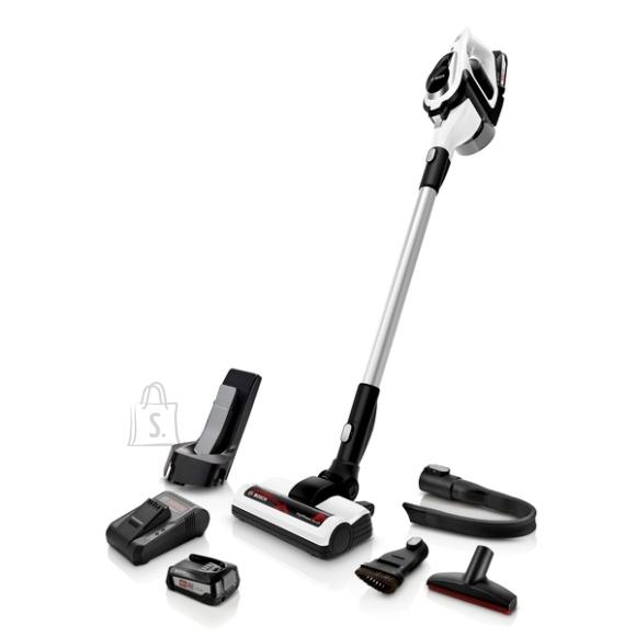 Bosch Bosch Vacuum cleaner BBS812PCK Handstick 2in1, 35 min, 0.4 L, White, Li-Ion, Warranty 24 month(s), Battery warranty 24 month(s)