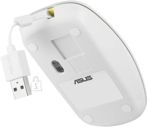 Asus Asus UT300 Optical USB mouse, White/Yellow