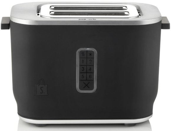 Gorenje Gorenje Toaster T800ORAB Power 800 W, Number of slots 2, Housing material Plastic, Black