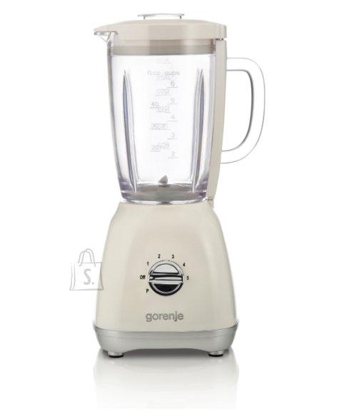 Gorenje Gorenje Blender B800RL Tabletop, 800 W, Jar material Glass, Jar capacity 1.8 L, Ice crushing, Beige