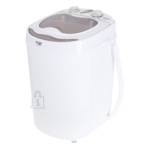 Adler Adler Mini washing machine AD 8055 Top loading, Washing capacity 3 kg, Depth 37 cm, Width 36 cm, White
