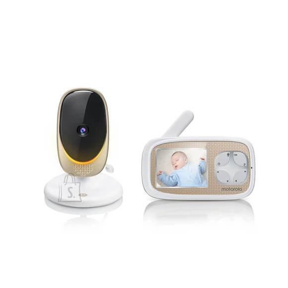 Motorola Motorola Comfort 40 Connect Baby Monitor, White/Gold