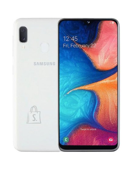"Samsung Samsung Galaxy A20e White, 5.8 "", PLS TFT, 720 x 1560, Exynos 7884, Internal RAM 3 GB, 32 GB, microSD, Dual SIM, Nano-SIM, 3G, 4G, Main camera Dual 13+5 MP, Secondary camera 8 MP, Android, 9.0, 3000 mAh"