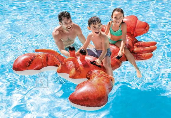 Intex Intex Lobster Ride-On Pool Float 57533NP Red