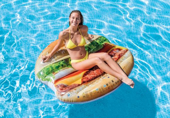 Intex Intex Juicy hamburger island 58780EU Multicolour