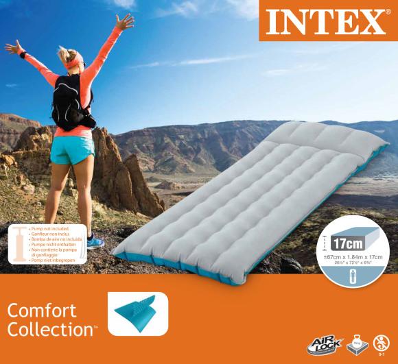 Intex Intex Inflatable mattress 67997 Light Grey