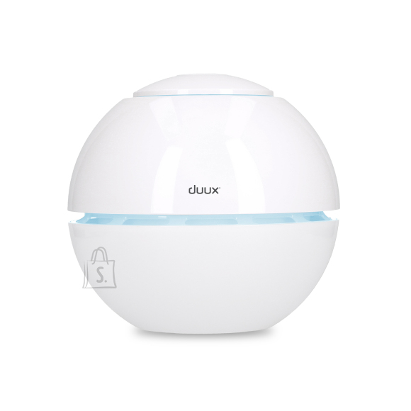 Duux Sphere Humidifier, 15 W, Water tank capacity 1 L, Suitable for rooms up to 15 m², Ultrasonic, Humidification capacity 130 ml/hr, White