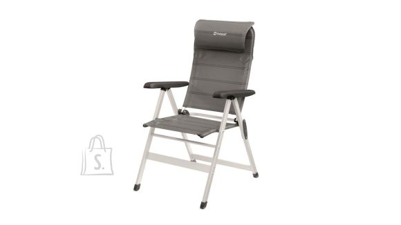 Outwell Outwell Foldable chair Milton 125 kg, Adjustable headrest and 7 position options, Grey