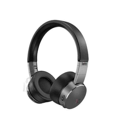 Lenovo Lenovo Active Noise Cancellation Headphones ThinkPad X1 Bluetooth 5.0; USB digital audio, Black/Iron Grey, ANC