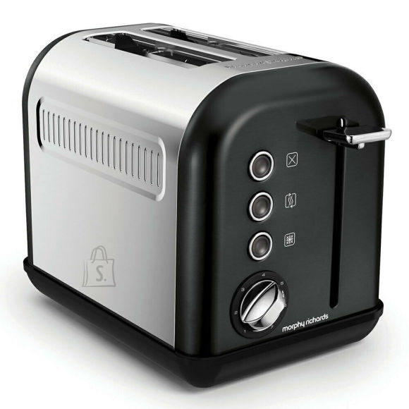 Morphy Richards Morphy richards Toaster 222013 Black, 850 W, Number of slots 2, Number of power levels 7,