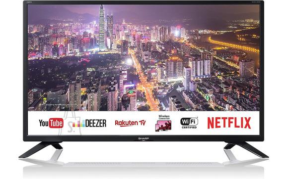 """Sharp Sharp 1T-C32BC4EH2NB 32"""" (81 cm), Smart TV, HD Ready, 1366 x 768, DVB-T/T2/C/S/S2, Black"""