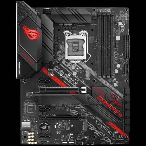 Asus Asus ROG STRIX B460-H GAMING Memory slots 4, Processor family Intel, ATX, DDR4, Processor socket LGA1200, Chipset Intel B