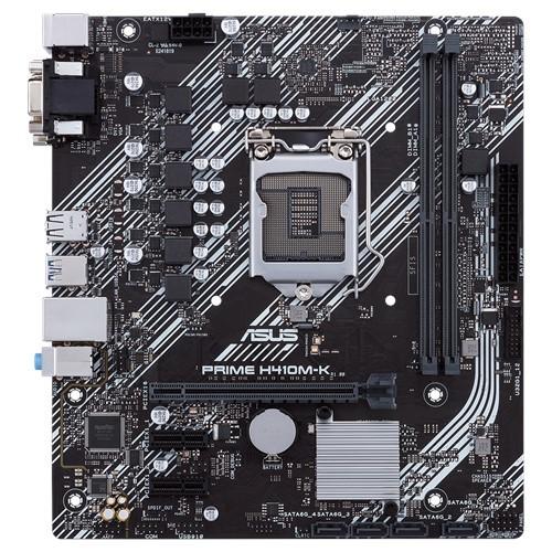 Asus Asus PRIME H410M-K Processor family Intel, Processor socket LGA1200, DDR4, Memory slots 2, Chipset Intel H, Micro ATX