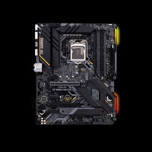 Asus Asus TUF GAMING Z490-PLUS Memory slots 4, Processor family Intel, ATX, DDR4, Processor socket LGA1200, Chipset Intel Z