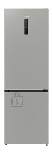 Gorenje Gorenje Refrigerator NRK6192MX4I A++, Free standing, Combi, Height 191 cm, No Frost system, Fridge net capacity 222 L, Freezer net capacity 85 L, Display, 40 dB, Metalic grey