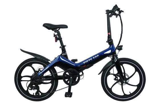 "Blaupunkt Blaupunkt Fiete 500, E-Bike, 250 W, 20 "", 25 km/h, Blue/Black"