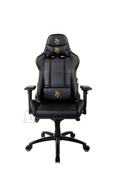 Arozzi Gaming Chair, Verona Signature PU, Black/Golden Logo