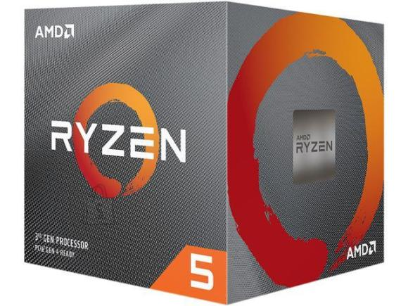 AMD AMD Ryzen 5 3600XT, 3.8 GHz, AM4, Processor threads 12, Packing Retail, Processor cores 6, Component for PC