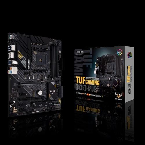 Asus Asus TUF GAMING B550-PLUS Memory slots 4, Processor family AMD, ATX, DDR4, Processor socket AM4, Chipset AMD B
